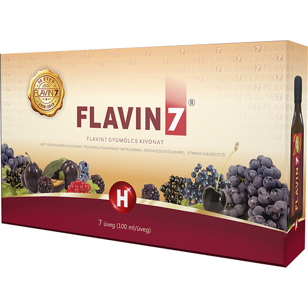 Flavin7 fruit concentrate 7x100ml = 700ml
