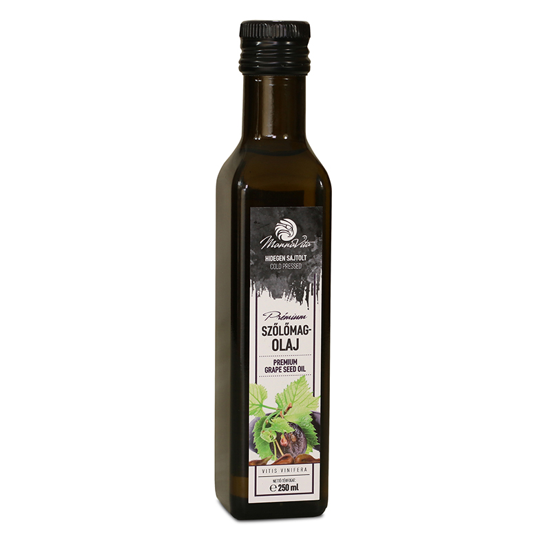 Mannavita cold pressed Hungarian Grapeseed oil, 250ml