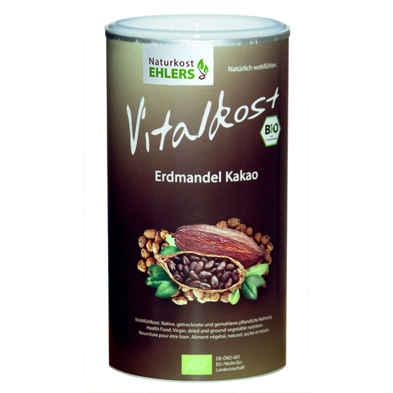 Ehlers Vitalkost Tiger Nut and Cocoa Powder 375g